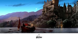 Harry Potter Artwork Harry Potter Artwork Journey to Hogwarts